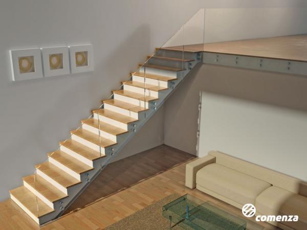 Barandillas rs cerramientos - Barandillas escaleras interiores ...